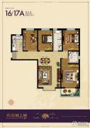 鹏渤・城上城3室2厅2卫0平方米户型图