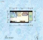 海悦湾0室0厅0卫50平方米户型图