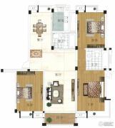 水岸帝景 高层2室2厅1卫79平方米户型图