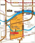 龙湖唐宁ONE交通图