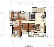 凯茵又一城(商铺)4室2厅2卫163平方米户型图