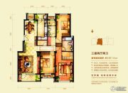意林・国际公园3室2厅2卫157平方米户型图