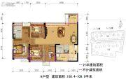 保利林语溪4室2厅2卫108--109平方米户型图