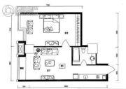 新荣・创智商汇2室2厅1卫85平方米户型图