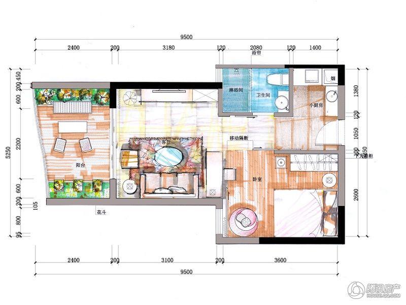 海尚海-K2标准层3层平面图03,06户型