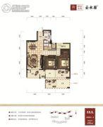 绿谷庄园2室2厅1卫88平方米户型图