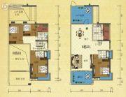 半山豪庭4室2厅3卫193平方米户型图