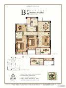 金圆上都三期3室2厅2卫101平方米户型图