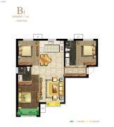 保利・心语花园3室2厅2卫112平方米户型图
