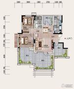 铂金汉城2室2厅1卫0平方米户型图