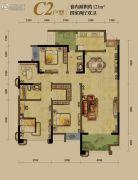 龙湖源著4室2厅2卫121平方米户型图