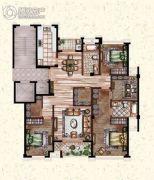 莲桥府4室2厅2卫178平方米户型图