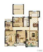 紫金上品苑4室2厅1卫109平方米户型图