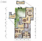 经典天成云墅4室2厅4卫0平方米户型图