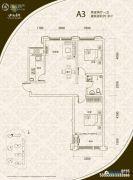 山海景湾2室2厅1卫81平方米户型图