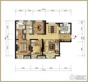 万科金域长春4室2厅2卫130平方米户型图