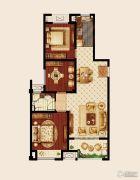 嘉宏云顶3室2厅1卫108平方米户型图