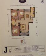 郁金台3室2厅1卫0平方米户型图