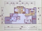 锦嘉汇景城3室2厅2卫0平方米户型图