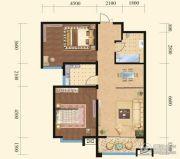 揽盛金广厦2室2厅1卫0平方米户型图