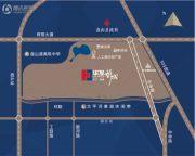 华发新城交通图