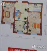 恒利新城2室2厅1卫0平方米户型图