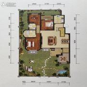 金地艺境3室2厅2卫139平方米户型图