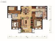 碧桂园・天汇3室2厅2卫119平方米户型图