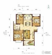 阳光100国际新城3室2厅1卫116平方米户型图
