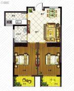 澳城苑库克船长2室2厅1卫83平方米户型图