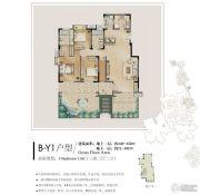 九龙仓时代上城3室2厅2卫219--256平方米户型图