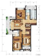 承安南湖壹品4室2厅2卫130平方米户型图