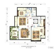 保利西山林语4室3厅5卫464平方米户型图