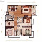 昆明广场4室2厅2卫142平方米户型图