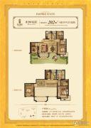 平阳滨江壹号6室3厅4卫202平方米户型图