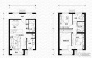 亿科公元20103室3厅2卫60平方米户型图