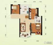 碧桂园澜江华府3室2厅1卫81--82平方米户型图