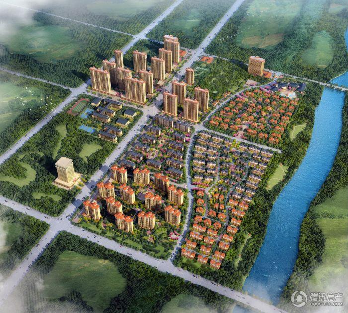 郑州国瑞城俯瞰图