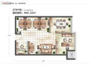 城置汇点0室0厅0卫81平方米户型图