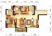 中航城3室2厅2卫84平方米户型图