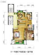 金地湖城大境0室0厅0卫0平方米户型图
