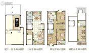 观山名筑3室2厅3卫163平方米户型图