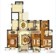 保利堂悦4室2厅2卫160--165平方米户型图