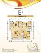 水岸尚品4室2厅2卫158平方米户型图