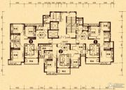 无锡恒大城108--139平方米户型图
