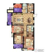宋都・蓝郡国际4室2厅2卫130平方米户型图