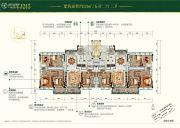 碧桂园天麓山5室2厅3卫221平方米户型图