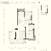 东正颐和府3室2厅2卫134--135平方米户型图