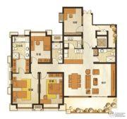 长发都市诸公4室2厅3卫155平方米户型图