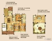海天紫郡4室2厅2卫157平方米户型图
